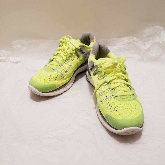 Nike Shoes Lunareclipse 3 Yellow Gray White Euc Poshmark